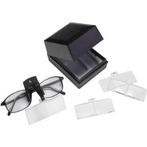Clip On Spectacle Magnifiers by Naturalight