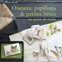 Oiseaux, Papillons et Petites Betes by Veronique Enginger (Birds Butterflies and Small Cross Stitched Animals)