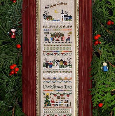 Christmas Day Sampler by The Victoria Sampler