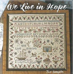 We Live In Hope by Blackbird Designs