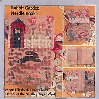 Rabbit Garden Needle Book by Dames of the Needle