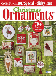 Just Cross Stitch Christmas Ornaments 2017