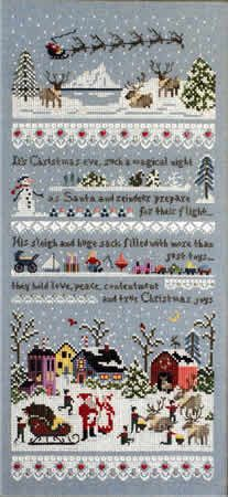 Santa's Village Sampler By Victoria Sampler