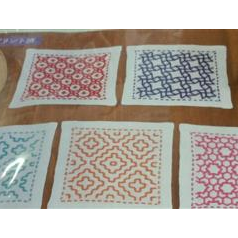 Sashiko Kit Coasters