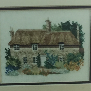 Thomas Hardy's Cottage from a series of English Cottages by Down Under Designs