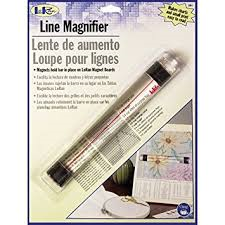 Loran Line Magnifier with Sliding Markers