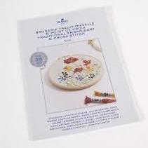 DMC Traditional Embroidery and Cross Stitch Booklet 3 -  Flowers of 4 Seasons