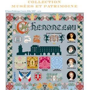 Chenonceau Chateau Cross Stitch Pattern by Sajou