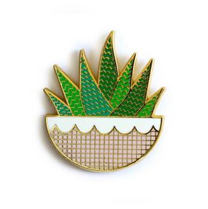 Zebra Plant Magnetic Needleminder by Kiriki Press