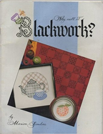Why Call It Blackwork By Marion Scoular