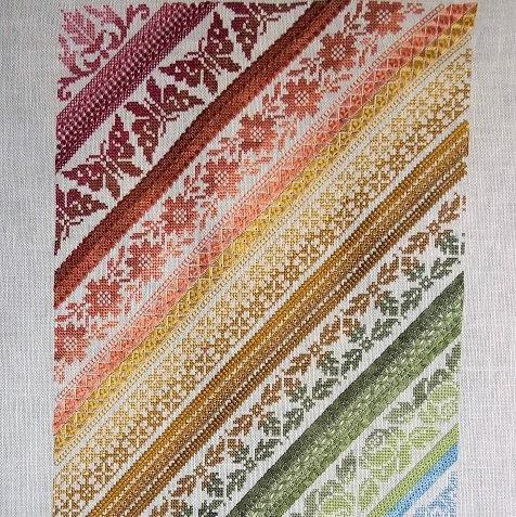 Twisted Band Sampler By Northern Expressions Needlework
