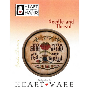 Needle and Thread by Heart in Hand