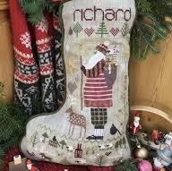 Richard's Stocking by Shepherd's Bush Chart and Charm Pack