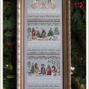 Heirloom Nativity Sampler by Victoria Sampler