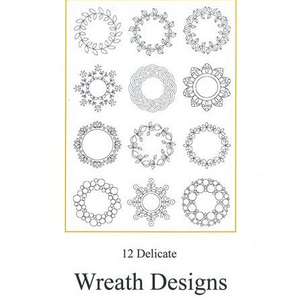 Wreath Designs Set 1 by Luzine Happel