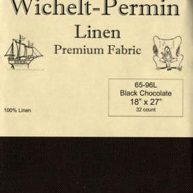 32CT Permin Black Chocolate Fat Quarter Precut Pack