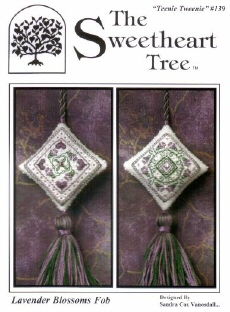 Lavender Blossoms Fob By The Sweetheart Tree