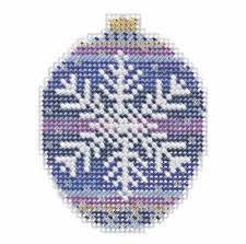 Beaded Holiday Ornaments by Mill Hill - 2018 Collection