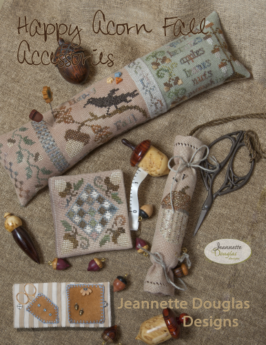 Happy Acorn Fall Accessories By Jeanette Douglas Designs