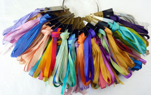 Colour Streams Silk Ribbon 7mm