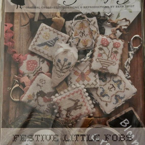 Festive Little Fobs Springtime Edition by Heartstring Samplery