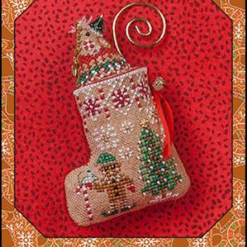 Gingerbread Mouse Elf Stocking by Just Nan