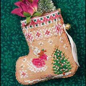 Gingerbread Mouse Fairy Stocking by Just Nan