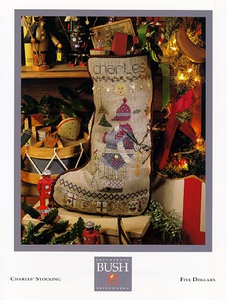 Charles' Stocking By Shepherd's Bush - Chart and Charm Pack