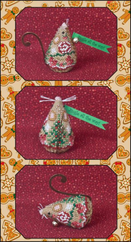 Gingerbread Jingle Mouse By Just Nan