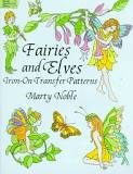 Fairies And Elves Iron-On Transfer Patterns By Marty Noble