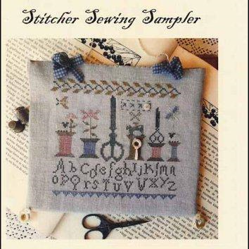 Stitcher Sewing Sampler by Nikyscreations