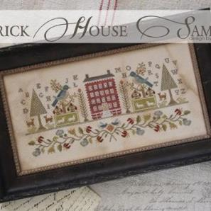 Brick House Sampler by Brenda Gervais