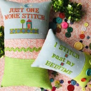 Just One More Stitch by Amy Bruecken Designs