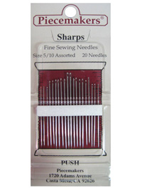 Piecemakers Sharps Needles