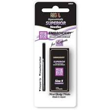 Regal Superior Embroidery Needles