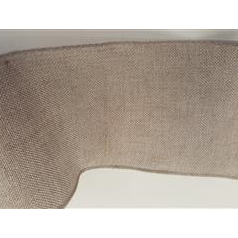 Linen Band 11.5cm With Scalloped Edge