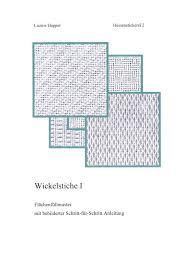 Wickelstiche 1 By Luzine Happel