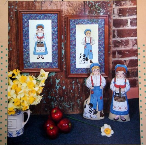 Country Couple Door Stops by Back Street Design