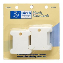 Birch Floss Cards Plastic