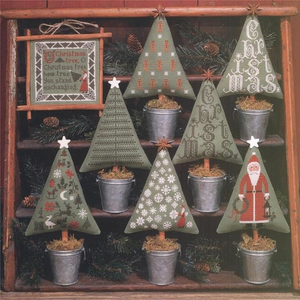 Christmas Trees by Prairie School Samplers