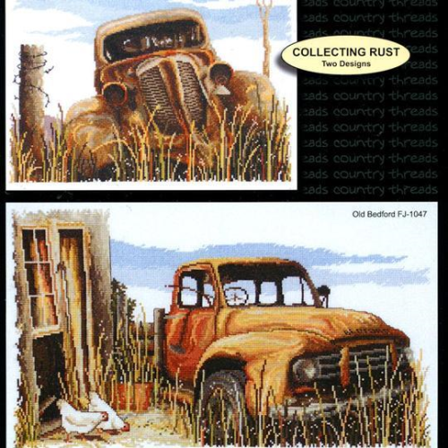 Country Threads Collecting Rust Cross Stitch Booklet
