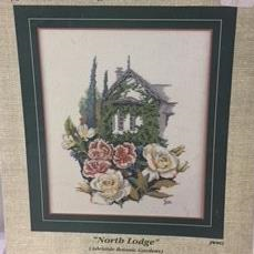 North Lodge from the Cottage Garden Series by Jan Woodman