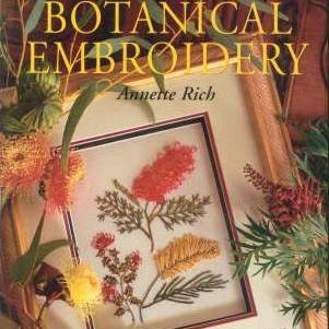 Botanical Embroidery by Annette Rich