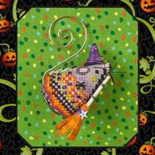 Hazel Fun Witch Mouse by Just Nan