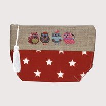 Christmas Owls Purse Kits By Le Bonheur Des Dames
