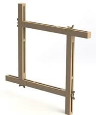 Adjustable Stretcher Frames