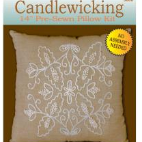 Candlewicking Pre Sewn Pillow Kit by Design Works Crafts