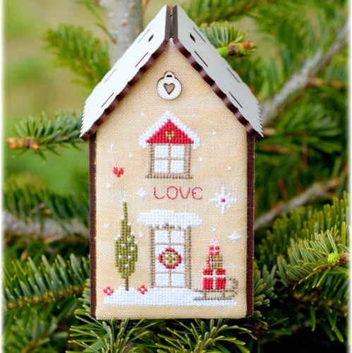 Love Christmas Birdhouse by The Bee Company