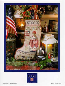 Sheree's Stocking By Shepherd's Bush - Chart and Charm Pack