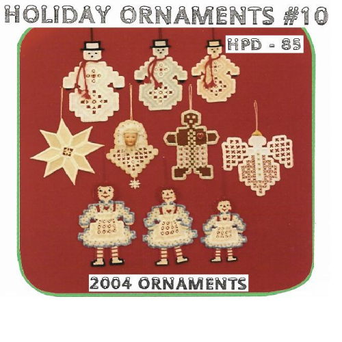 Holiday Ornaments # 10 - 2004 Ornaments by Hanky Panky Designs